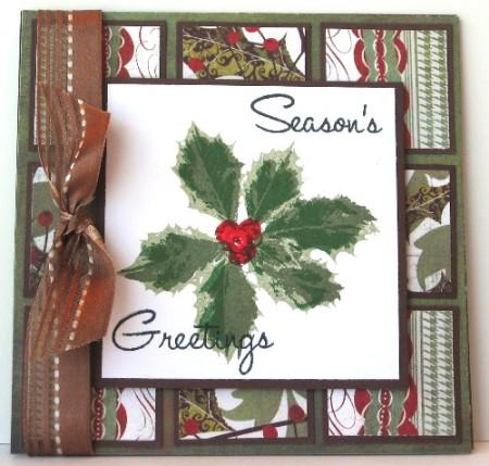 Holly Season's Greetings